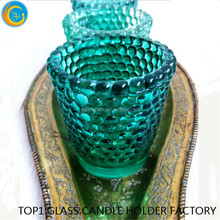 Green candle stand Home Decoration Weddings Art & Collectible