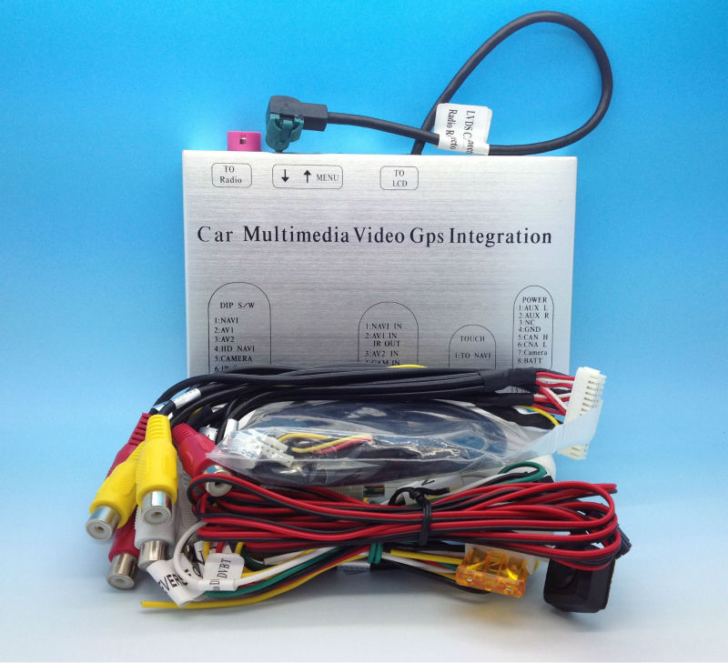 2009-2012 FORD Multimedia Video Interface