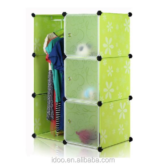 6 Cubes Wardrobes With One Hanger,Magic Cubes Wih 6 Doors Small ...