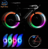 Multicolor Sport Outdoor Cycling Led Bike Spoke light Wheel LED Lamp Bicycle light