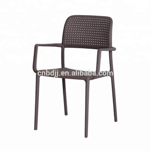 New Arrival outdoor stackable plastic chair wholesale
