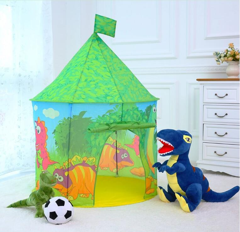 Castle Play Tent PLAY10 Kids Pop up Playhouse Dinosaur Play Tent for Children Indoor Outdoor Fun & Castle Play Tent Play10 Kids Pop Up Playhouse Dinosaur Play Tent ...