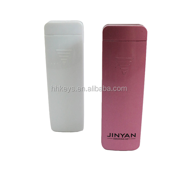 Electric Cigarette Plasma Lighters for Smoking(White and Pink)