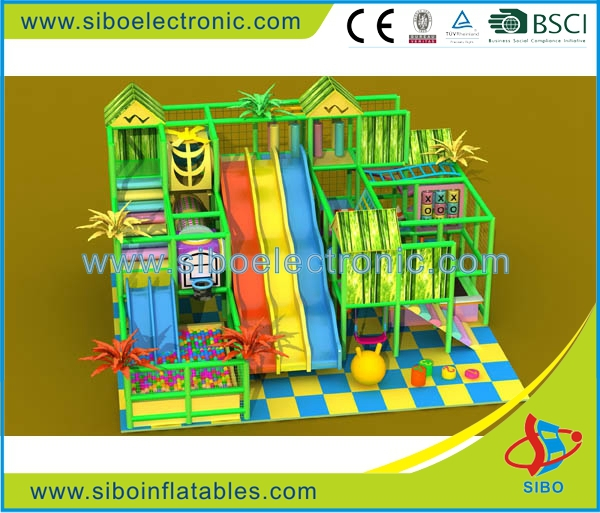 Recreational park happy kids indoor toy cubby house