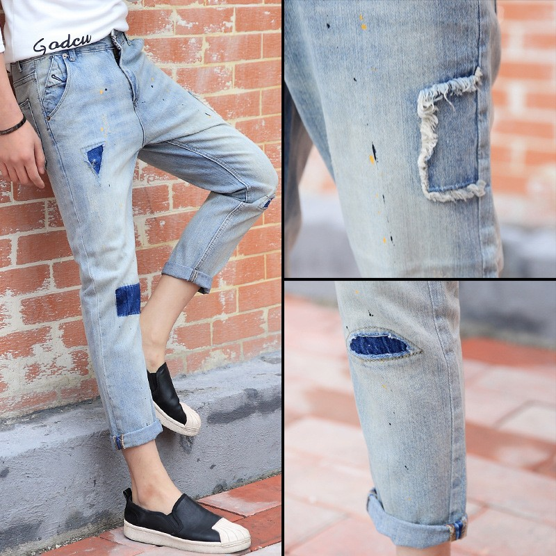 New Style Men Dirty Pent Jeans For Vietnam Boys From Ebay China
