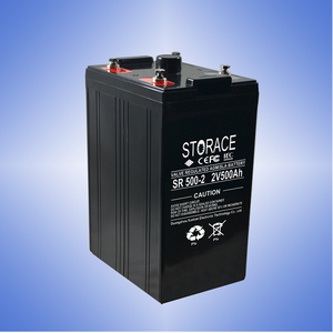Max Life Lead Acid Battery Solar Power Storage Battery OPzV Battery 2V 500AH