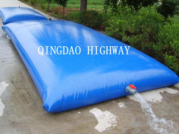 Portable 100 Gallon Water Tank Storage Bags