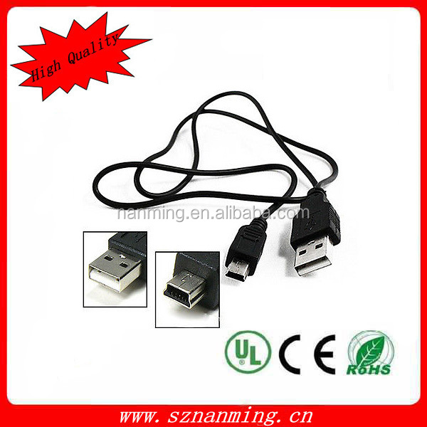 Wholesales USB AM to mini 5P cable