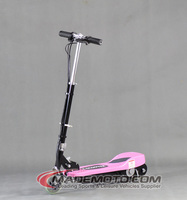 120w power pink 24v brushed mini kids electric scooter