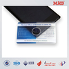 MDC1160 13.56MHz transparent smart card/ RFID business card/palstic business card