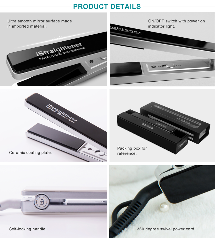 PRITECH China Online Selling Customized Best Electric Hair Straightener