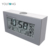YT6508 Light Alarm Custom Desktop Decoration Electronic LCD Clock , Table Clock with Alarm