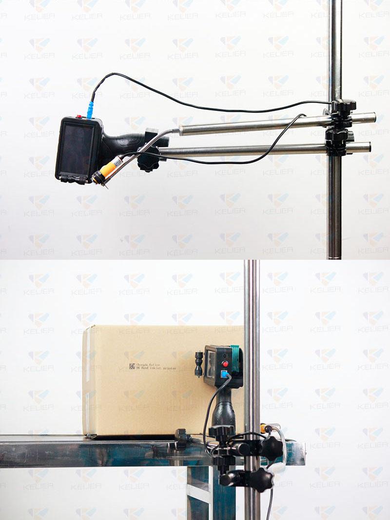 2020 Nieuws Assemblagelijn Ondersteuning Stand Voor Handheld Injket Printer En Online Inkjet Printer