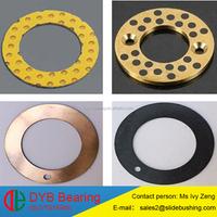 copper and aluminium bimetal plate/bronze alloy bimetal thrust pad/copper metal washer bimetallic plate