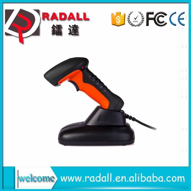 RD - 6650AT Automatic Portable USB Laser Barcode Bar Code Scanner Reader POS Base