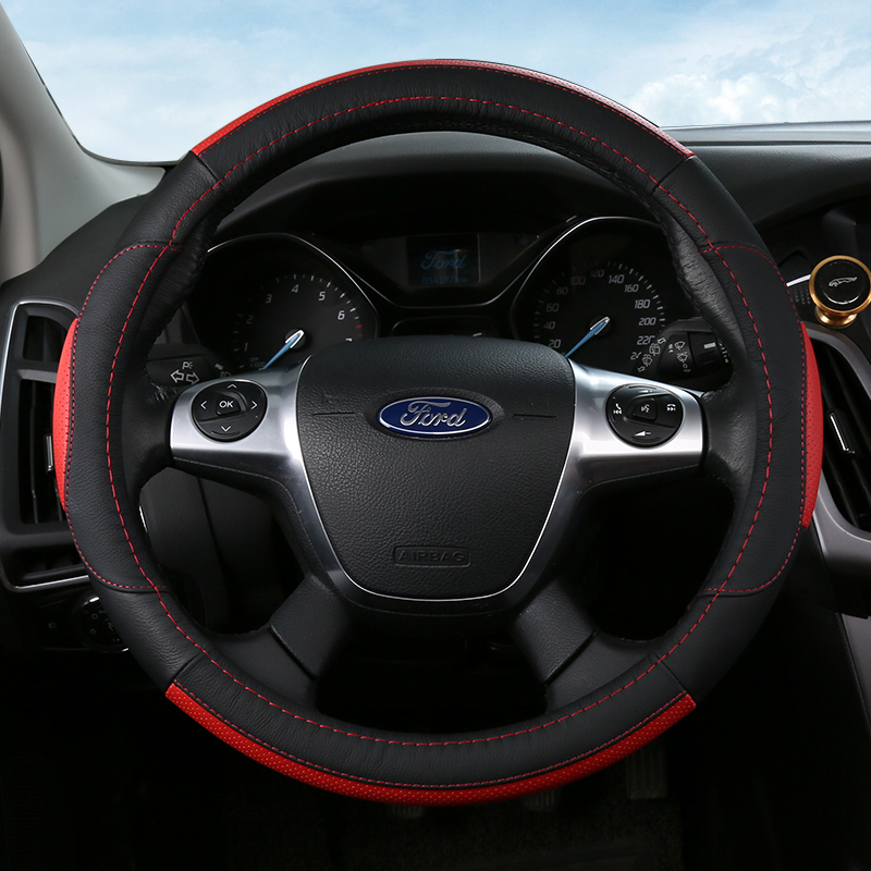 2017 Summer Steering wheel cover,Car Accessories Leather Auto Steering Wheel Cover,High Quality Car Accessories Steering Wheel