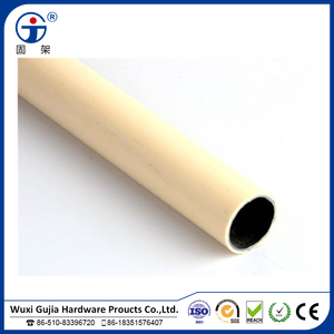 plastic PE/ABS coated welding pipe/plastic pipe fitting