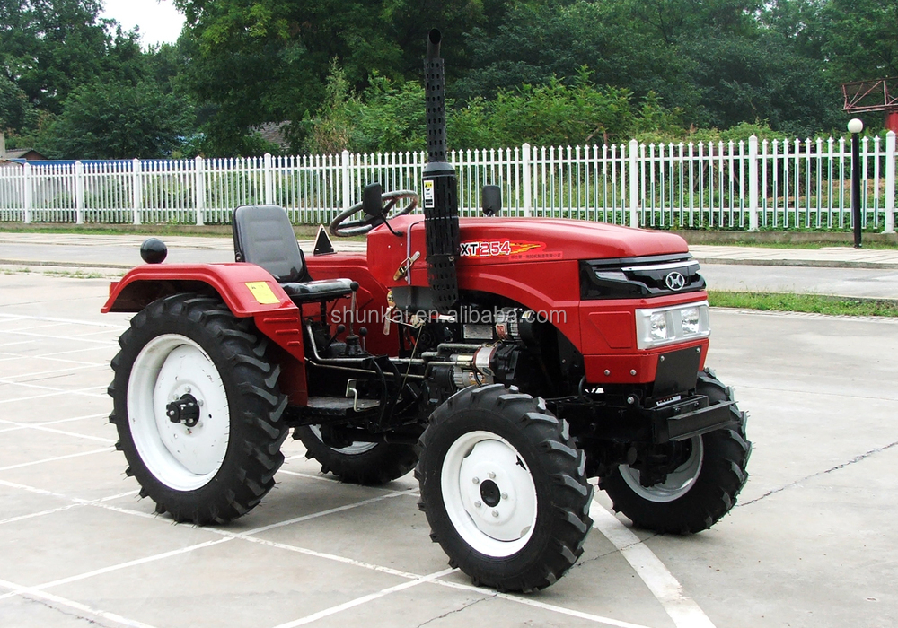 2016 new 18HP 4x4 wheel drive farm mini tractor