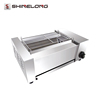 K1356 Professional Stainless Steel Commercial Gas Automatic BBQ Barbecue Chicken Grill