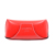 New Model Red Soft Pu Leather Sunglasses Case With Magic Sticker