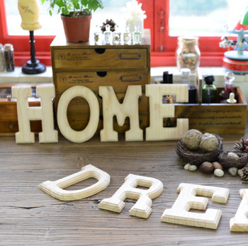 Diy Wooden Decorative Alphabet Letters For Wall Hanging Magnetic Letter