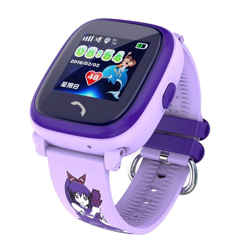 a3bc260634fc DF25 IP67 impermeable niños GPS Teléfono de natación inteligente reloj bebé  reloj SOS llamada ubicación dispositivo