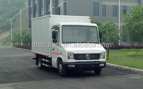 New China DONGFENG Van CNG Truck 2tons to 4ton Light integration small Cargo Truck