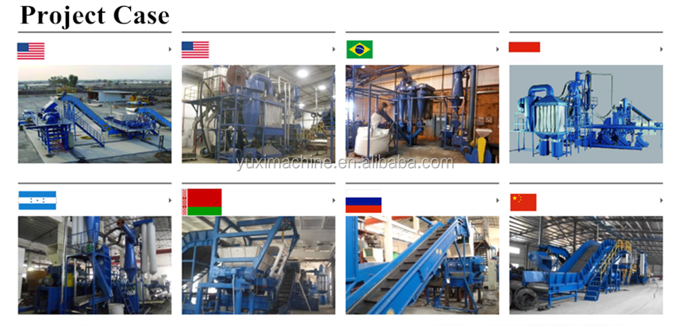 Gebruikte Band Recycling Plant/Band Rubber Poeder Making Machine/Afval Rubber Tire Recycling Apparatuur Prijs