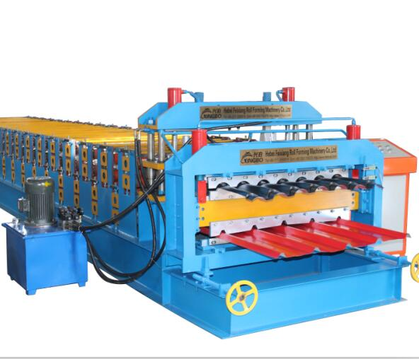 roof panel step tile roll forming machine price double layer steel roof and wall sheet roller machine