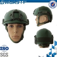 Military and police NIJ standard ballistic helmet with bullet camera