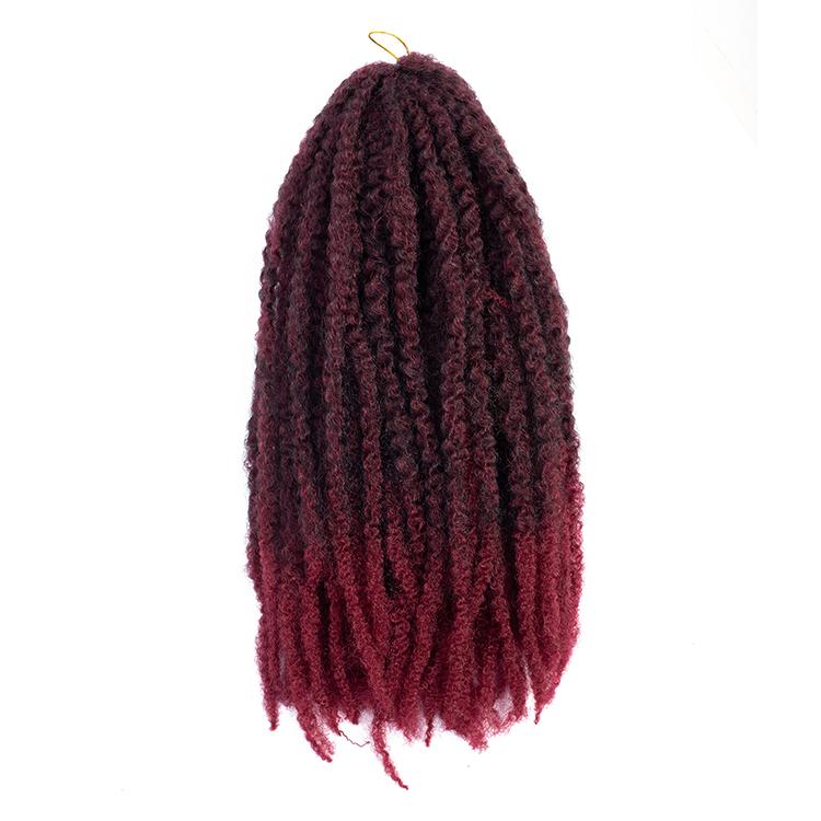 100 Synthetic Fiber Hair Crochet Braid Hair Extension