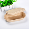 Trade Assurance Eco-friendly Biodegradable Corn Starch Food Container, Disposable Lunch Box
