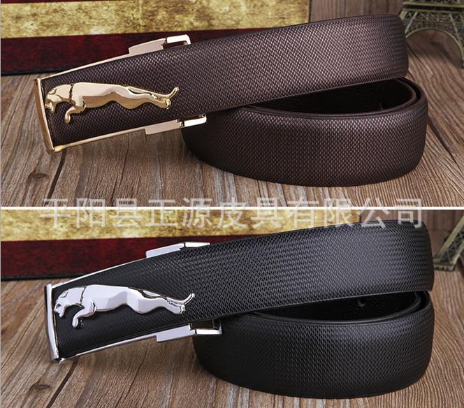 Jaguar Clothing Accessories: Factory Direct Wholesale Leather Jaguar Belt Leopard Belt