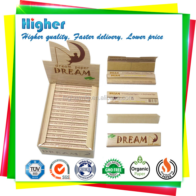 custom your logo smoking rolling <strong>paper</strong> with tip natural gum ultra thin unbleached rolling <strong>paper</strong>