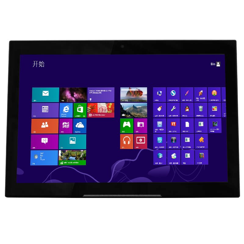 "Portable use black color 10.1"" android tablet wifi all in one pc"