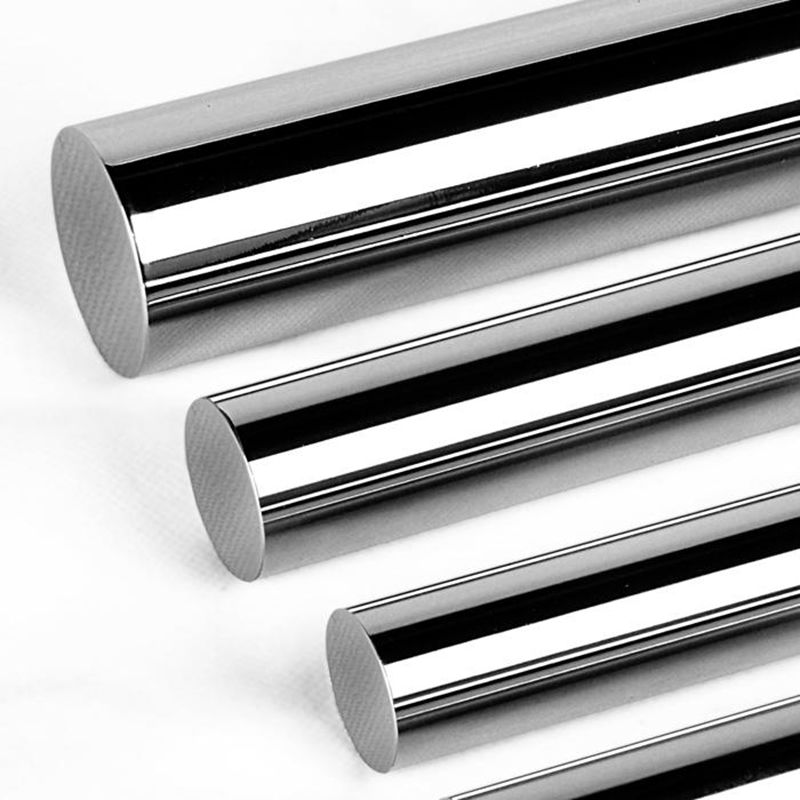 Factory producing hard chrome plated piston steel rod