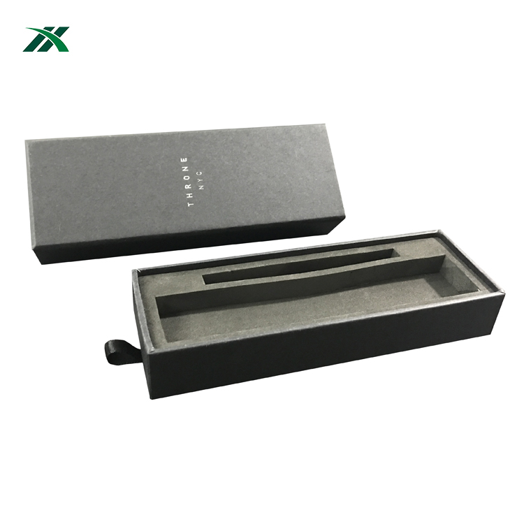 Best selling two pieces watch box packaging EVA insert