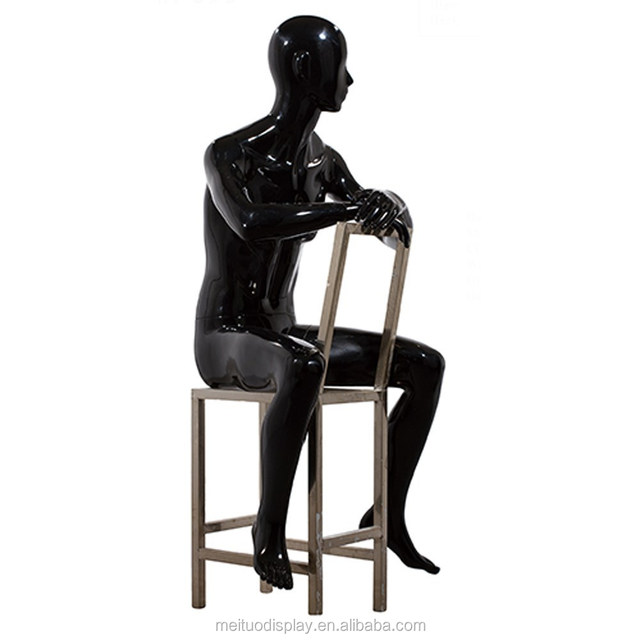 Fancy Male Adjustable Sitting Men Tailoring Dress Form For Clothes Display