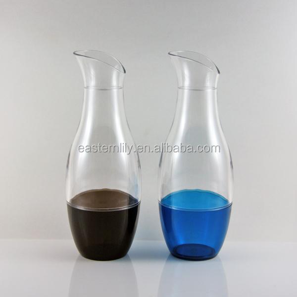 1 litres bpa livraison en plastique acrylique tritan cruche vin carafe buy product on. Black Bedroom Furniture Sets. Home Design Ideas