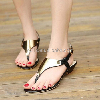 b088a7efe5e3 2016 Wholesale Women New Stylish Flat Sandals Pm3506 - Buy New ...