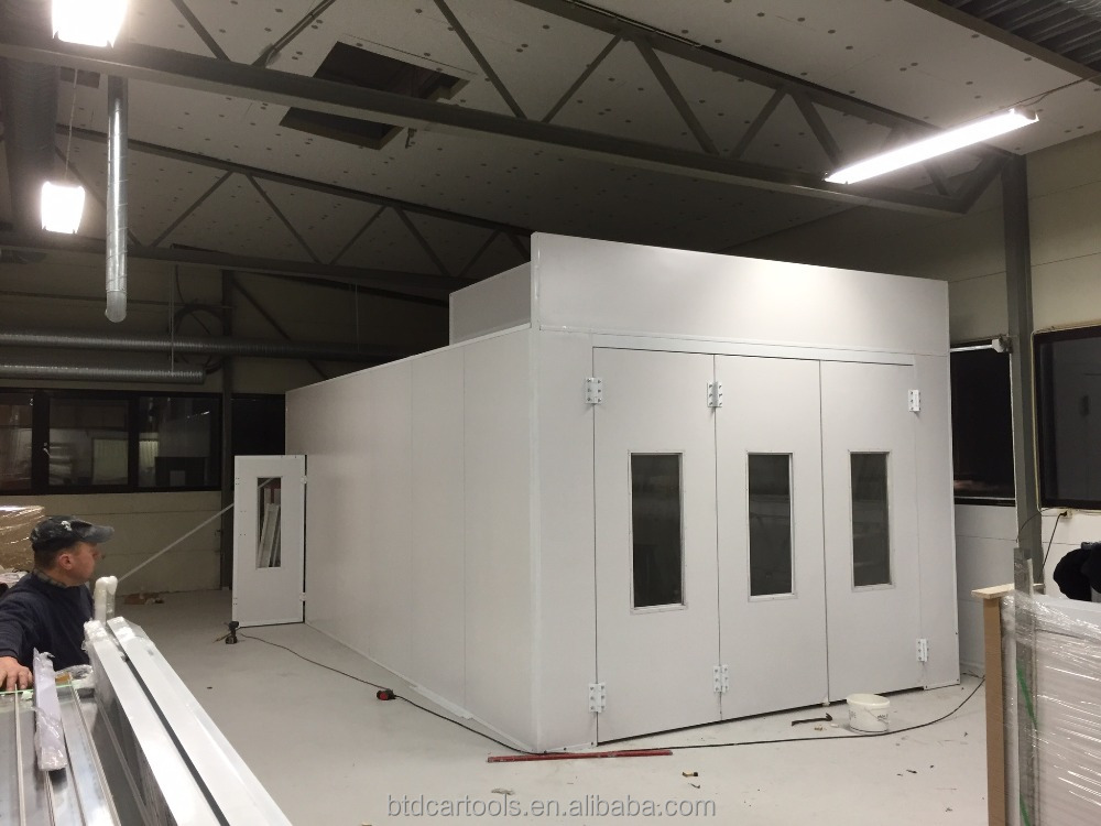 Outdoor Small Paint Spray Booth With High Quality