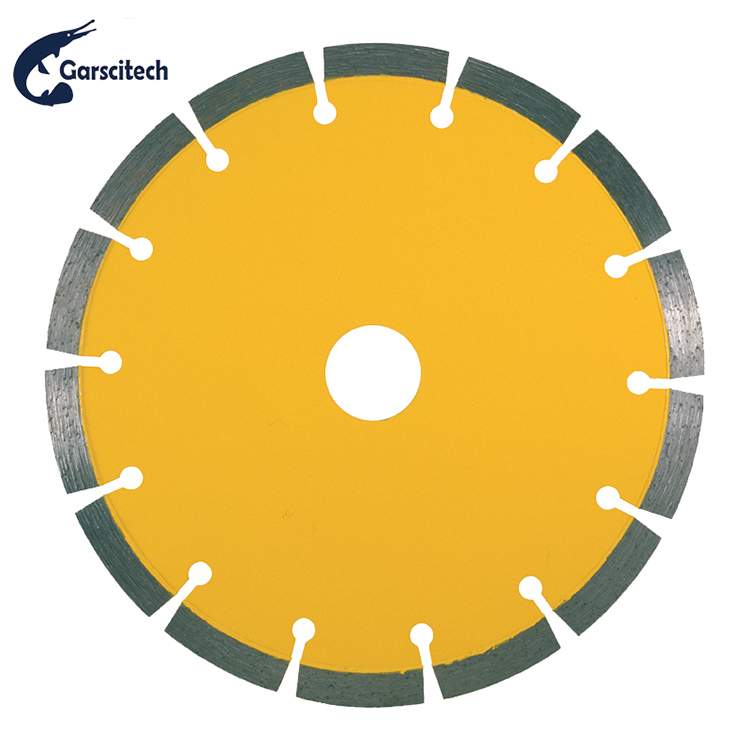 Good Market Fast Cutting Diamond Tools Handle Saw-Sintered Laminate Cutting Saw Blades
