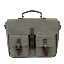 Canvas Backpack Shoulder Mens Messenger Bag