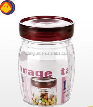 Good Price Safe ISO Big Glass Herb Storage Jars