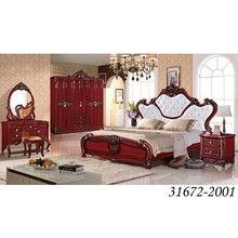 Classic King Size Wooden Royal Style Bedroom Furniture Set 31672-2001