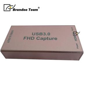 hd usb video capture with HD to USB3.0 converter