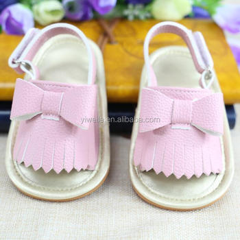 19a781b85eb0b Wholesale Leather Baby Sandals New Style Mary Jane Bow Soft Sole Leather  Tassel Baby Bow Moccasins Baby Girls Dress Shoes - Buy Soft Sole  Sandals,Baby ...
