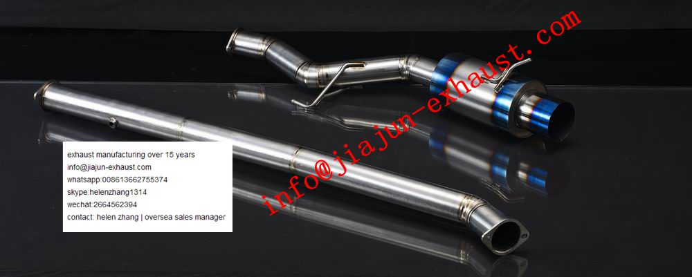 lancer evo parts catback exhaust