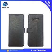 Wholesale Factory Flip Cover for Samsung Galaxy S8, for Samsung S8 Leather Wallet Case, S8 Leather Case