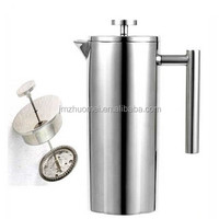 350ml 800ml 1000ml stainless steel double wall french press coffee maker